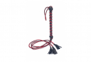 Three Tail Tassel Flogger - Bőr Korbács