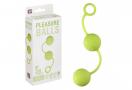 Pleasure Balls Green - Gésagolyó Duó